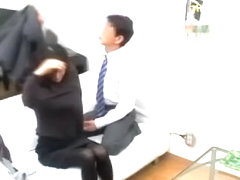 Slut gets to climax after my japanese cock drills her hard