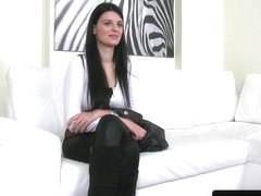 euro amateur casted with office pounding
