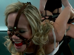Hot MILF Simone Sonay Experiences Electro for the Very First Time!!