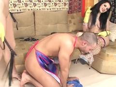 Fabulous pornstar in exotic facial, big tits sex scene