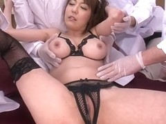 Horny Japanese model Akari Asagiri in Best JAV uncensored DP scene