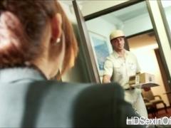 Isabella De Santos takes delivery huge hard dick deep inside her pussy