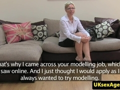 Bulgarian amateur blown on by casting agent