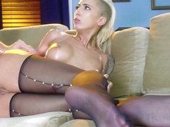 Bella Bellz & Preston Parker in Pantyhose Anal Ho - Brazzers