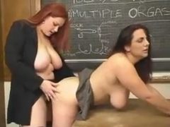 Redhead BBW Teaches The Greatest Lesson Ever
