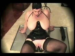 Latex-Fetish-big beautiful woman with Biggest Bazookas