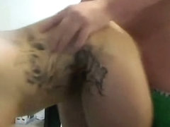 Non-Professional with consummate body sucking shlong and eating cum