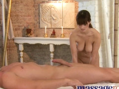 Massage Rooms Trickling moist moist sex after carnal foreplay