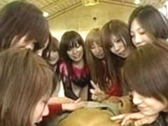 Japanese reverse gangbang 4 hours special