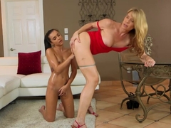 Crazy pornstars Desiree Dalton, Kharlie Stone in Incredible Fingering, MILF xxx clip