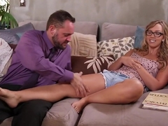 Horny pornstar Abella Danger in amazing hardcore, foot fetish adult scene