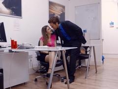 Amazing pornstar Stella Cox in incredible brazilian, facial sex video
