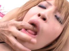 Exotic Japanese chick Hatsuka Kobayashi in Horny JAV uncensored Creampie clip