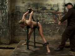 Power Flogging & Tit Torment