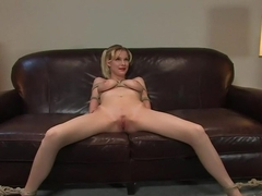 Amateur Casting Couch 19: Raina, HOLY FUCK she's a HOT SLUT!