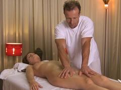 Incredible pornstars Christine Diamond, George in Amazing Redhead, Massage sex scene