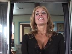 Best pornstar in exotic lingerie, blonde adult clip