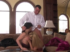 Amazing pornstars Jessica Girl and Veronica Sanchez in fabulous threesome, lingerie porn clip