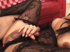 PinkoShemales Video: Tanned And Ready