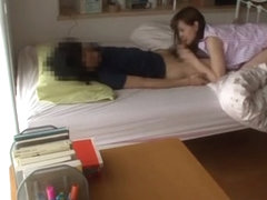 MILF tutor Yukiko Suo caught fucking a student on cam