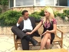Defrancesca Gallardo and Stacy Silver share cock