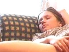 Hidden cam Masturbate on couch