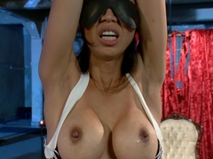 Incredible squirting, fetish adult movie with hottest pornstars Maitresse Madeline Marlowe and Tia.