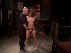 Fabulous fetish, squirting porn video with horny pornstars Savannah Fox and Derrick Pierce from Du.