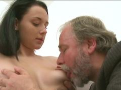 Fabulous pornstars in Hottest College, Small Tits sex clip