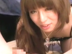 Horny Japanese chick in Exotic /Futanari, Stockings JAV movie