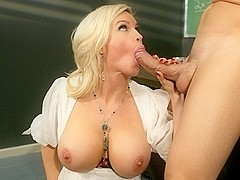 Diamond Foxxx & Christian Clay  in Raven Alexis The Substitute, Scene 2