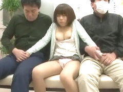 Exotic Japanese chick Rui Saotome in Best Blowjob, Stockings JAV movie