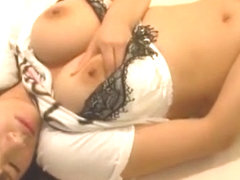 Crazy Japanese slut Hana Haruna in Hottest Solo Female, Masturbation JAV clip