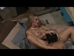 British floozy Tanya Tate acquires screwed in a clothing factory
