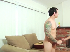 Young Cfnm Beauty Deepthraoting Cock