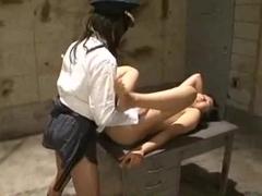 Hot Japanese slut tortured in lezdom BDSM séance