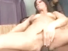 Leashed cuck watches his wife impaled on BBC.