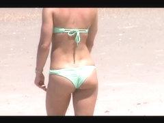 blonde teen beach crotch shot spy 57 ass cameltoe tits combo