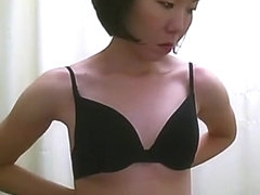 Asian women with small tits spied