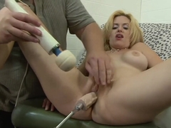 Horny pornstar Tiffany Tanner in crazy blonde, anal porn video