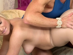 Incredible pornstars Kate England, Amanda Verhooks in Crazy Lesbian, Cunnilingus xxx video