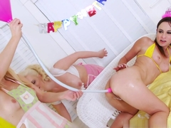 Amazing pornstars Cherry Torn, Amber Rayne, Ashley Fires in Incredible Lesbian, Big Ass sex scene