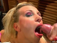 Amazing pornstar in Hottest Facial, Bukkake sex scene