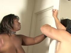 Incredible pornstar Cassidi Jai in amazing black and ebony, big tits sex scene