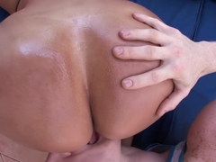 Huge Latina ass to play with and fuck over...