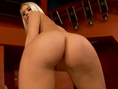 Lovely Kittie feeling hot and lonely drilling her pussy with a dildo
