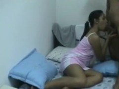 indonesian University Students Fucking in Hostel