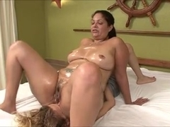Thick Brasil - Lesbian Slave - Face Sitting