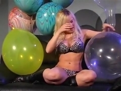 Sexy girls Balloon fetish blow to pop compilation 2