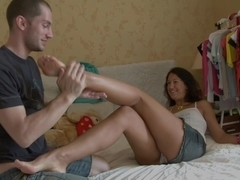 Generous Foot Massage Turns Into A Deep Anal Sex Session